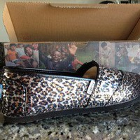 TOMS Panthera Sequins Women Size 8.5