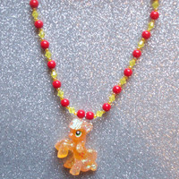 Glitter Applejack Necklace - Crystal Empire Series