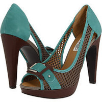 Naughty Monkey Flirtatious Grey/Turquoise - Zappos.com Free Shipping BOTH Ways