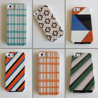 Modern IPhone 5 case Choose Your Favorite Design iphone case VIBE geometric colorful redtilestudio