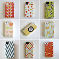 IPhone 5 case Choose Your Favorite Design iphone case Barely There geometric colorful redtilestudio