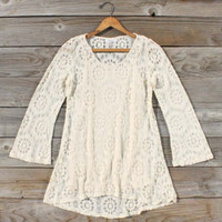 Early Frost Lace Tunic, Sweet Bohemian tops