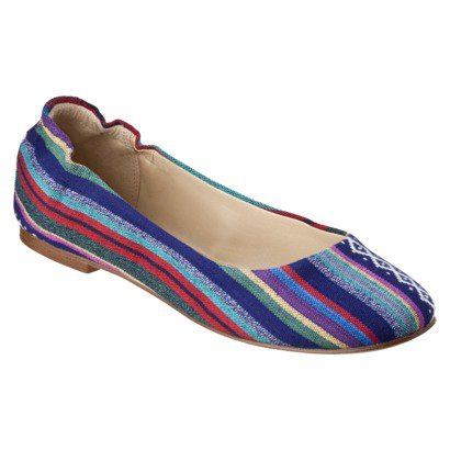 Women's Mossimo® Ona Ballet Flat - Assorted Colors