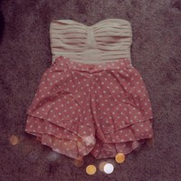 Polka Dot Skort from Seek Vintage