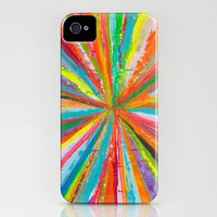 Exploding Rainbow iPhone Case by Shane W. Link | Society6