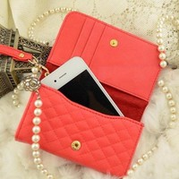 Luxury Designer Clutch Bag For iPhone 4/4S