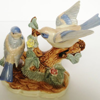 Vintage China Bird Ornament