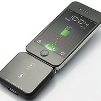 Mini Universal Solar Battery Charger for iPhone, iPod, Android Phone and USB Devices - Black from 1Point99.com