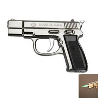 Amazon.com: Stylish Pistol Shape Cigarette Lighter Black: Kitchen & Dining