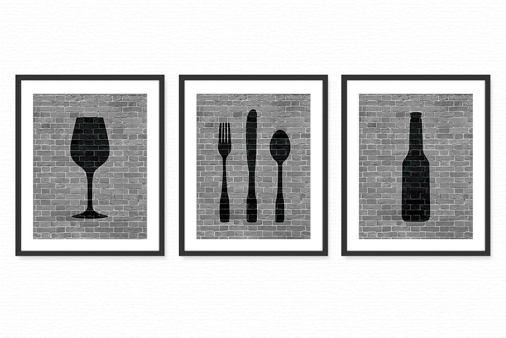 modern dining room art prints beer from daphnegraphics
