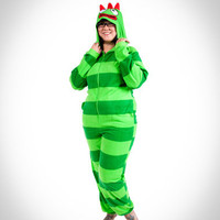 Yo Gabba Gabba &#x27;Brobee&#x27; Hoodie Pajamas in Stuff to Wear New