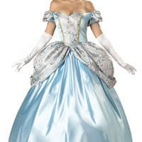 Adult Super Deluxe Enchanting Princess Cinderella Costume