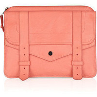 Proenza Schouler|PS1 leather iPad case|NET-A-PORTER.COM