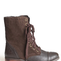Tawny Combat Boots - $69.00 : ThreadSence.com, Your Spot For Indie Clothing  Indie Urban Culture