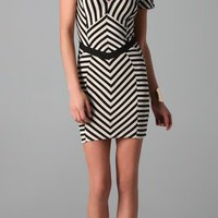 Torn by Ronny Kobo Caterina Panel Dress