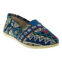 Soda Object Women's Canvas Slip-on Shoes