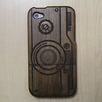 Degrave iPhone 4 Wood Case by Heana
