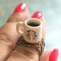 Starbucks coffee ring