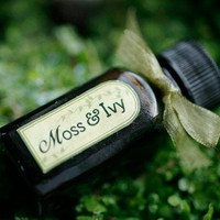 Moss and Ivy  natural perfume oil by ForStrangeWomen on Etsy