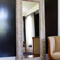Mother-of-Pearl Floor Mirror - Horchow