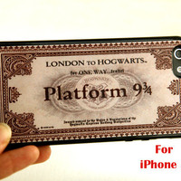 iPhone 5 Case harry potter iphone 5 case hogwarts by belindawen