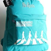 2012 The Beatles Abbey Road Back Pack Bag Kal-Gav Original Black Blue Turquoise