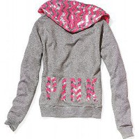 Bling Perfect Zip Hoodie - Victorias Secret PINK - Victoria&#x27;s Secret