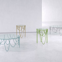 Drapery Table Collection by Nathan Yong | Design Milk