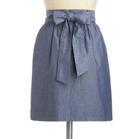 Swing the Blues Skirt | Mod Retro Vintage Skirts | ModCloth.com