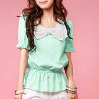 Chiffon Bow Blouse -more colors from CATPRINCESS CLOTHING