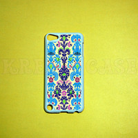 iPod Touch 5 Case,Damask pattern iPod touch 5 Case, iPod touch 5G Cover,Case for iPod touch 5