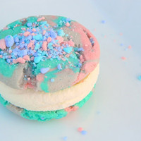 Cutest Cotton Candy EVER Cookie-Wiches -1/2 Dozen