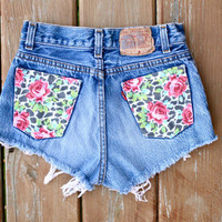Floral Pocket Shorts