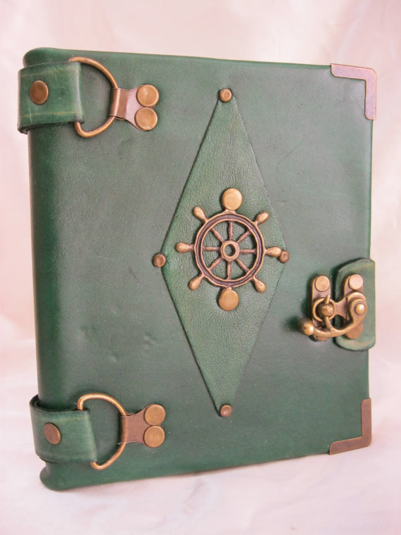 handmade blank leather journal notebook by totemscrafts on Etsy