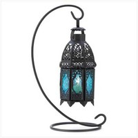 SAPPHIRE NIGHT HANGING LANTERN from Jannie's LiveDeals