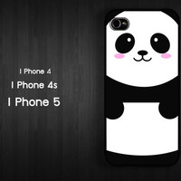 Case iPhone 4 Case iPhone 4s Case iPhone 5 Case idea case panda china  animal case cute baby