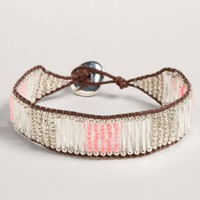 AEO Beaded Bar Bracelet | American Eagle Outfitters