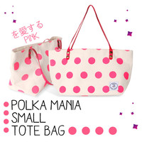 Polka Mania Small Tote Bag