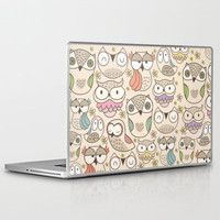 The owling Laptop &amp; iPad Skin by Maria Jose Da Luz | Society6