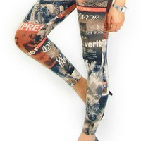 Vintage New York Leggings from University