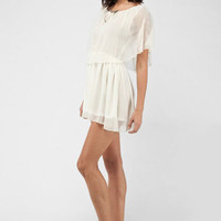 Giselle Chiffon Dress :: tobi