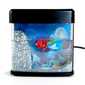 Cosmos compucable usb mini fish tank toy from amazon for Toy fish tank