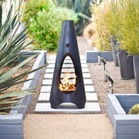 Modfire Outdoor Fireplace Steel