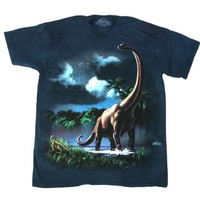 The Mountain Brachiosaur Dinosaur Tee T-shirt