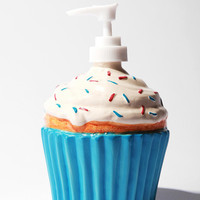 Urban Outfitters - Ceramic Cupcake Soap Dispenser