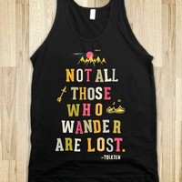 Not All Those Who Wander Are Lost (Tank) - Adventure Tees