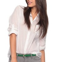 Classic Button Up Shirt | FOREVER21 - 2002929916
