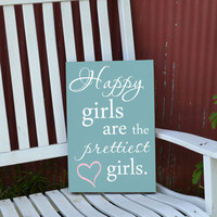 Happy girls are the prettiest girls Audrey by GrabersGraphics