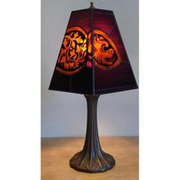 Grotesque Stained Glass Lamp by TwoCatsAndADog on Etsy