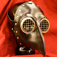 Corvus Plague Masque by tinplatestudios on Etsy